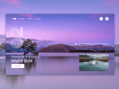 Hero Section Concept Design modern design original figma design landing page design minimal web inspiration web design