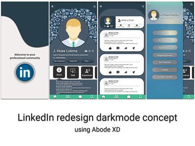 LinkedIn Mobile app redesign concept app design android app design ios app design app ux ui mobile app design design ui design ux design