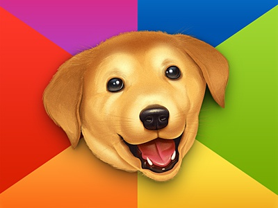 AdviceDog  (kill @ steal) dog joke ios icon advice kill steal