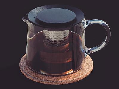 Riklig ikea draft teapot tea