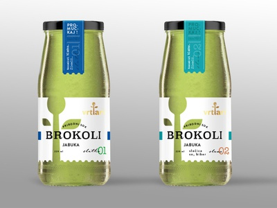 Broccoli Juice Packaging smoothie healthy branding and identity branding design cooking drink transparent bottle label bottle organic juice broccoli package design packaging branding