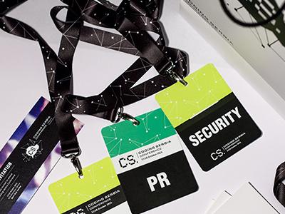 Coding Serbia - Branding conference coding serbia branding accessories accreditation tags invitation bag print identity