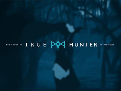 True Hunter - The Power of Authenticity game identity psychologist objective authenticity authentic practice emotional psychology hunter mind design symbol branding logo