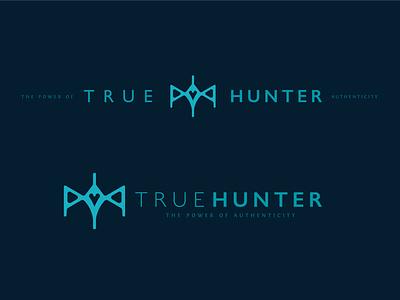 True Hunter  - Logo lockups brand visual identity app game auto authentic true hunter introspection objective emotional practice psychologist psychology design symbol identity branding logo