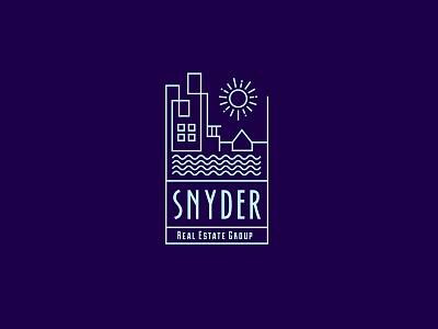 Snyder Real Estate landscape building logo houses apartments ocean florida real-estate luxury