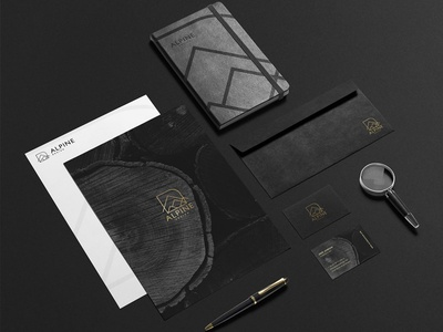 Alpine Design - Stationery