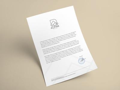 Alpine Design - Letterhead