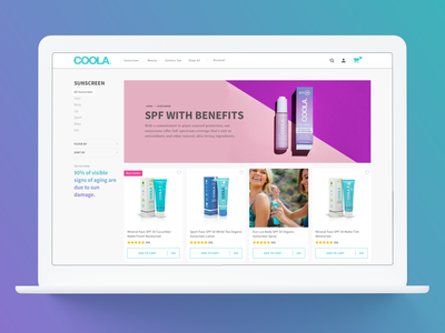 Collection Page Redesign user interface design ux product ux design collection ui ecommerce design