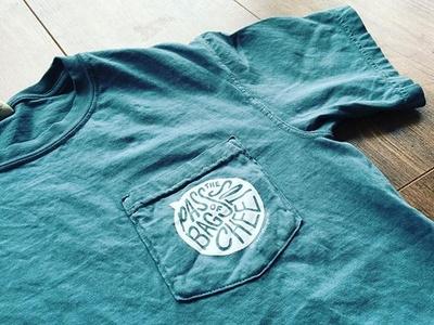 Joey Viola Brand Shirt screenprint design hand drawn retro design shirt mockup shirt design handlettering