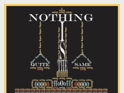 nothingfinaljpeg   Copy scale typography illustration design