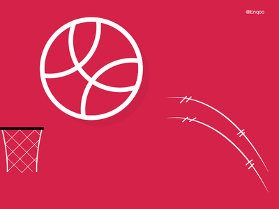 Hello, Dribbble dribbble invite basketball debut