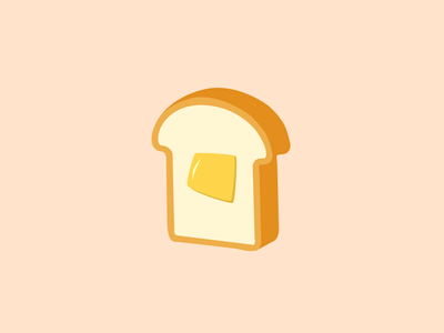 Creativity is my Bread and Butter vector ui logo illustration icon design branding