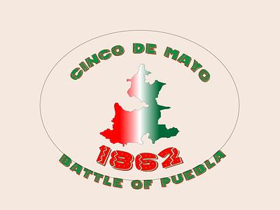 Cinco De Mayo cinco de mayo mexico gradient design typography