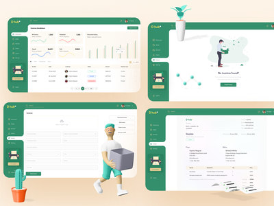 Invoice Builder full design design system inspiration invoice animation 3d design error page payment service customer service crm software send invoice corporate dashboard design payment method design app banking user interface invoice dashboard invoice form invoice template invoice design invoice