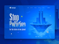 Stop Pollution Free Header Image