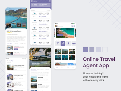 Online Travel Agent Apps destination hotel logo hotel app hotel flight booking flight holiday travel agent travel app online travel agent trendy design trend design ui design application app ui awesome design inspiration