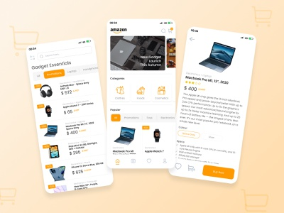 Amazon Apps - Redesign shopee lazada amazon apps redesign inspiration design trend design online shopping apps ecommerce awesome design ui design design application app ui inspiration