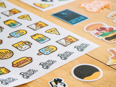 Stickers! coffee ice cream hot dog photo food cheese mule oreo sticker stickers