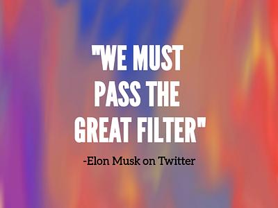 Elon's Tweet colorful vivid typography twitter tweet samsung galaxy illustration elon musk