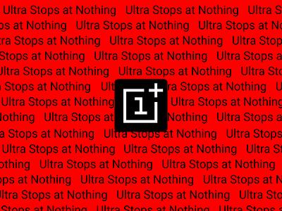 OnePlus Branding logo design ultra typography oneplus