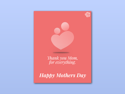 Weekly Warmup (67) mothers day card design