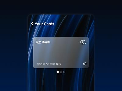 Credit Card design ui design ui finance app finance creditcard credit card