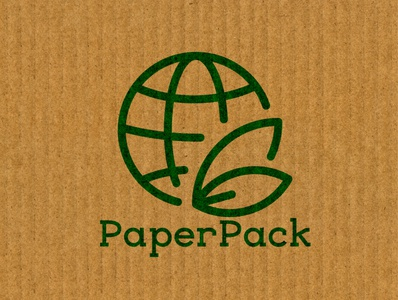 PaperPack logocore core logo branding design