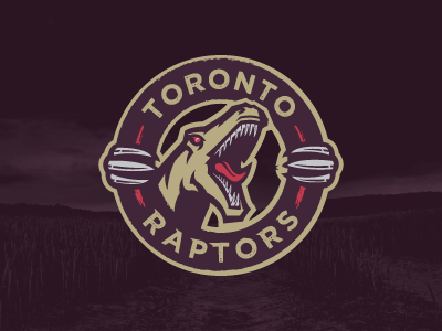 We the North, Featuring an Actual Raptor toronto raptors sports logo basketball nba