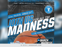 DC-Area Dine/Party Venue Event Promos - March Madness