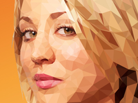 Penny - Low-Poly Illustration