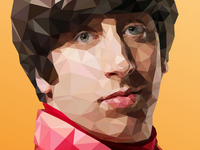 Howard - Low-Poly Illustration