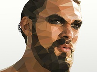 Khal Drogo - Low poly Game of Thrones