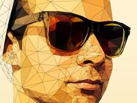 Low-Poly Illustration - DJ Vanic