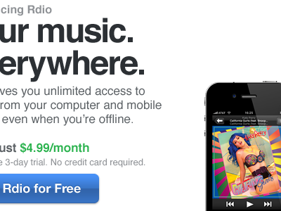 ur music. katy perry iphone 4 button helvetica rdio