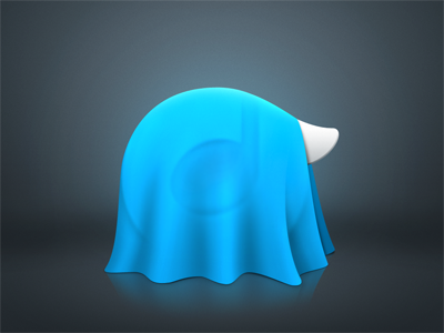 Rdio teaser rdio teaser illustration logo drape reflection