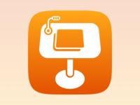 Keynote for iOS 7 Icon