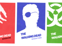 The Walking Dead Season Posters