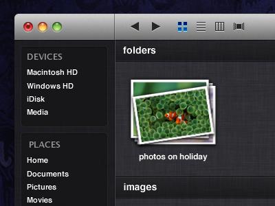 Finder in Lion Update mac os x mac os x lion interface ios