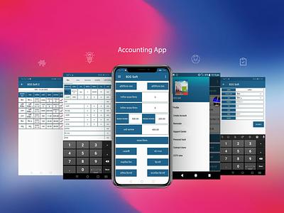 Brickfield account UI mobile ios app design design ui accounting app app ux android app design app development app ui app designer app