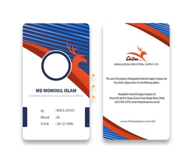 ID card office design icon card design card identity branding official creativity photoshop design id card design id card illustration