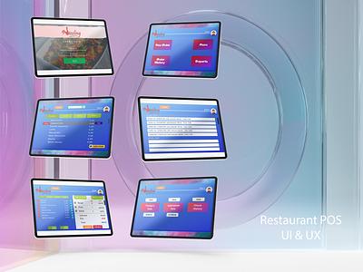 Restaurant POS UI mockup food mockup app designer food foodie app ui app ux designer app development android app design design