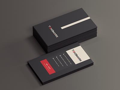 Teksmarx Business Card designer business card photoshop logo branding design visiting card