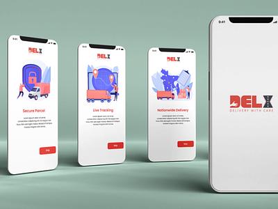 App Splash Screens photoshop designer app designer app ux vector graphic design motion graphics branding logo ui