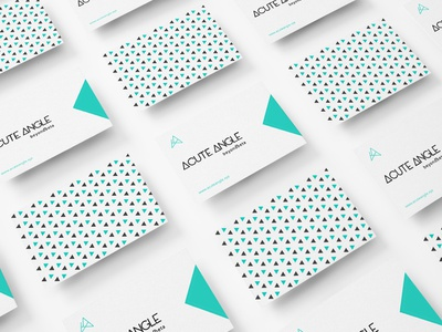 Acute Angle Branding vector typography logo ui  ux assets brand assets printing business card cards design print design branding agency