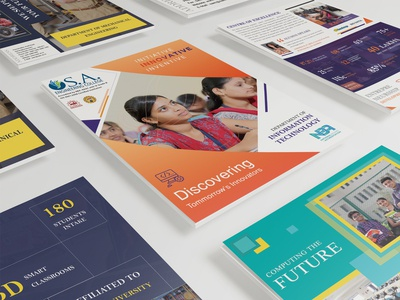 Brochure Design for SA Engineering College