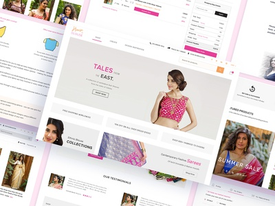 UI/UX Design for House of Blouse