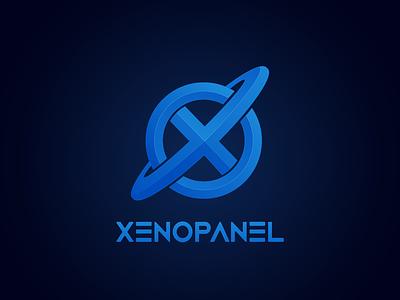 XenoPanel design branding vector logo