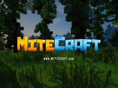 Mitecraft typography branding logo