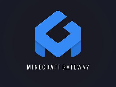 MinecraftGateway vector branding logo