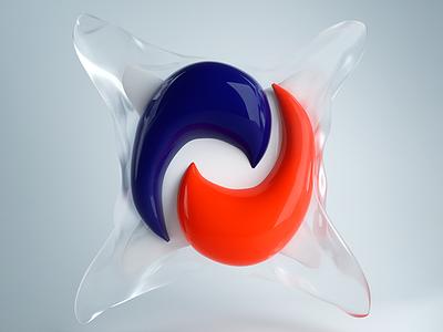 TidePod render art bleach pod tidepod octane graphic c4d cinema 4d 3d illustration design